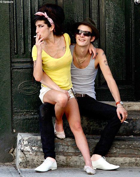 Amy Winhouse y Blake Fielder-Civil