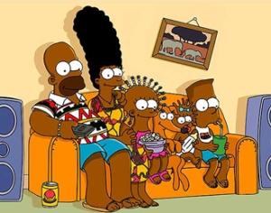 Los Simpson africanos